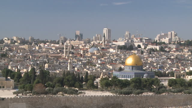dome of the rock in jerusalem - al aqsa mosque stock videos and b-roll footage