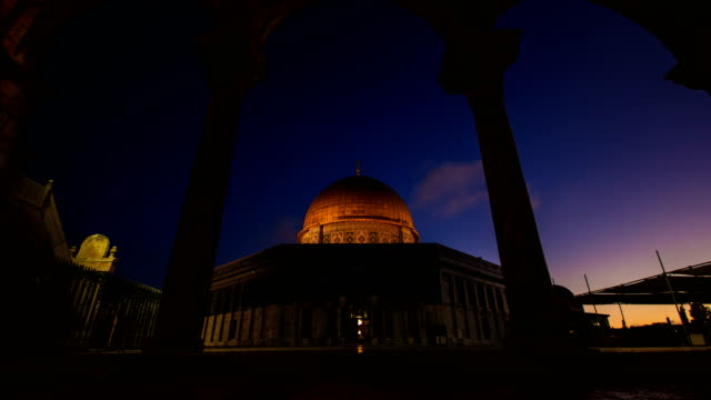dome of the rock qubbet el sakhra - al aqsa mosque stock videos and b-roll footage