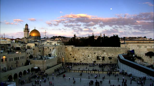 dome of the rock - jerusalem stock videos & royalty-free footage