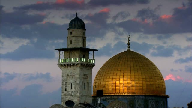 dome of the rock - israel stock-videos und b-roll-filmmaterial