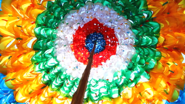 Dome prayer flags