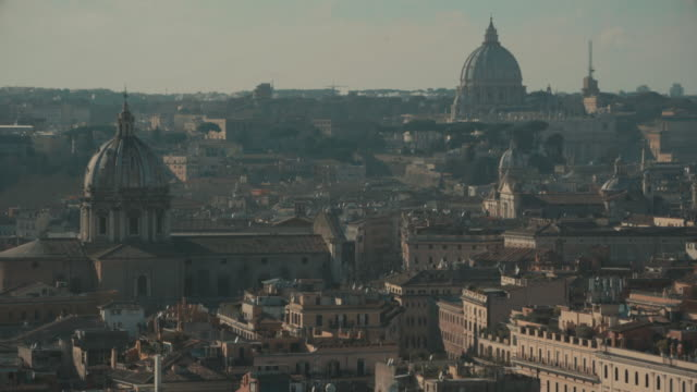 Domes and cityscape of Rome