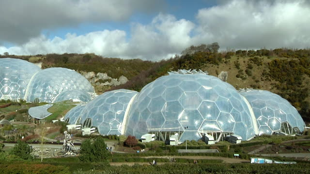 WS HA Domes of Eden Project botanical garden near St Austell / Cornwall, United Kingdom