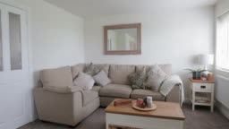 Domestic Living Room Interior