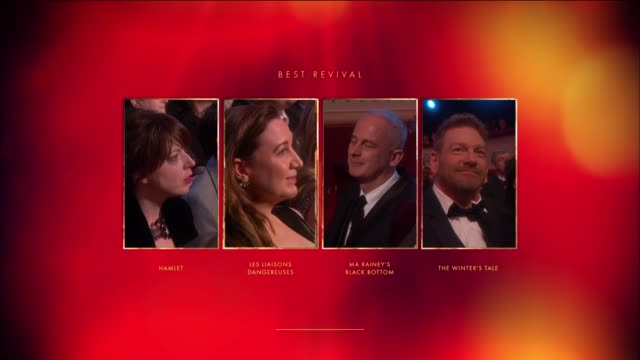 Dominic Cooke Ma Rainey's Black Bottom Best Revival at The Olivier Awards with MasterCard at The Royal Opera House on April 04 2016 in London England
