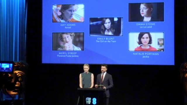 Dominic Cooper and Sophie Turner announce the nominees for the 2017 BAFTA awards Interview with Cooper and Turner who praise the diversity of genres...