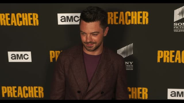 dominic cooper at the preacher season 3 premiere at the hearth and hound on june 14 2018 in los angeles california - preacher stock videos and b-roll footage