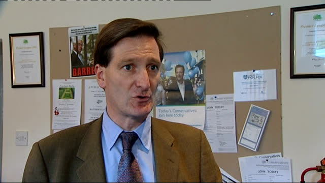 dominic grieve mp interview sot tony mcnulty mp interview sot ext reporter to camera - tony mcnulty stock videos & royalty-free footage