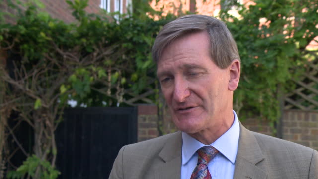 dominic grieve mp responds to christine lagarde's comments on a 'no deal' brexit - dominic grieve stock videos and b-roll footage
