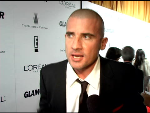 Dominic Purcell on it not being a shock that 'Prison Break' was nominated it was a celebration of the writers and actors and teasing on a big event...