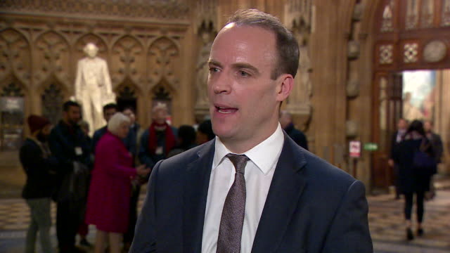 Dominic Raab calling the Commons vote against Theresa May's legislative plans for Brexit are a 'minor setback' but it will not stop Brexit going...