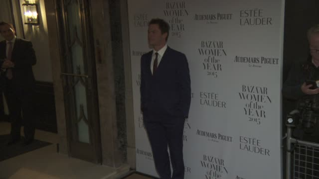 Dominic West at Harper's Bazaar Women of the Year Awards at Claridge's Hotel on November 03 2015 in London England