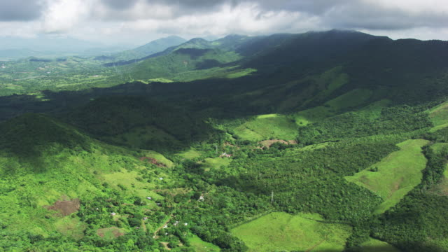 dominican republic: valley and mountains - dominican republic stock videos and b-roll footage