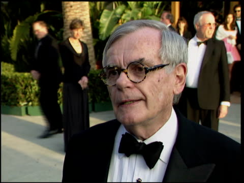 dominick dunne at the 1996 academy awards vanity fair party at morton's in west hollywood, california on march 25, 1996. - 68th annual academy awards stock videos & royalty-free footage