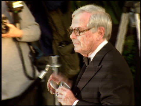 dominick dunne at the 1998 academy awards vanity fair party at morton's in west hollywood california on march 23 1998 - 70th annual academy awards stock videos & royalty-free footage