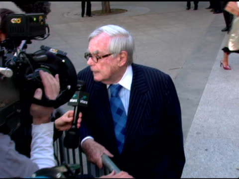 Dominick Dunne at the 2006 Tribeca Film Festival Vanity Fair Party at State Supreme Courthouse in New York New York on April 26 2006