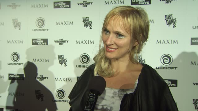 Dominika Wolski on what brings her to comiccon at the Maxim Ubisoft And Sony Pictures Celebrate The Cast Of 'The Other Guys' at San Diego CA