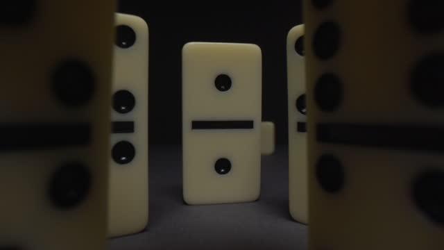 dominoes - casino stock videos & royalty-free footage