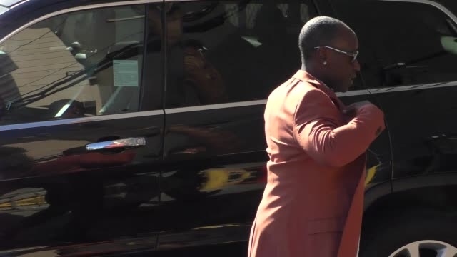 Don Cheadle arrives at Jimmy Kimmel Live at El Capitan Theater in Hollywood in Celebrity Sightings in Los Angeles