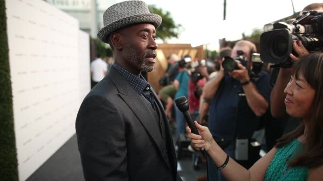 Don Cheadle at Halle Berry Josh Gad Announce Winners Of The Chivas Venture $1m Global Startup Competition on July 13 2017 in Los Angeles California