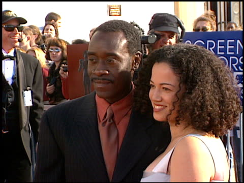 Don Cheadle at the 1998 Screen Actors Guild SAG Awards at the Shrine Auditorium in Los Angeles California on March 8 1998
