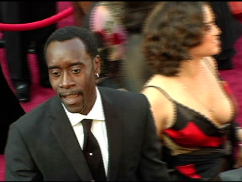 Don Cheadle at the 2005 Annual Academy Awards Arrivals at the Kodak Theatre in Hollywood California on February 28 2005