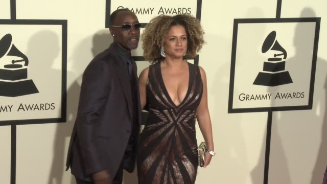 stockvideo's en b-roll-footage met don cheadle at the 58th annual grammy awards® arrivals at staples center on february 15 2016 in los angeles california - 58e grammy awards