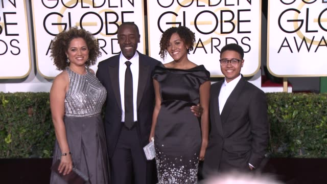 Don Cheadle at the 72nd Annual Golden Globe Awards Arrivals at The Beverly Hilton Hotel on January 11 2015 in Beverly Hills California