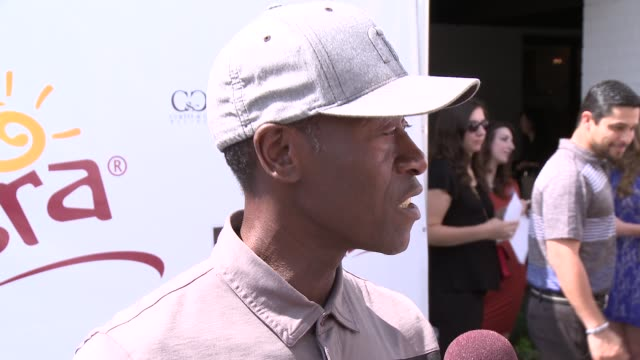 Don Cheadle at The 7th Annual George Lopez Celebrity Golf Classic Presented By Sabra Salsa at Lakeside Golf Club on May 05 2014 in Toluca Lake...