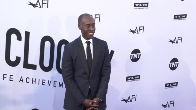 Don Cheadle at the American Film Institute Honors George Clooney With 46th AFI Life Achievement Award at Dolby Theatre on June 07 2018 in Hollywood...