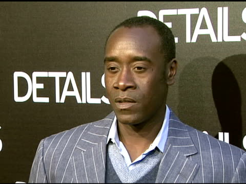 Don Cheadle at the Details Magazine Celebrates 'Mavericks 2008' at NULL in Beverly Hills California on March 21 2008