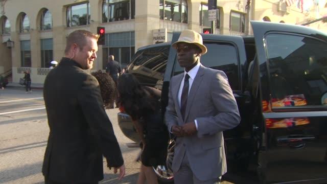 don cheadle at the 'iron man 2' premiere at hollywood ca - 麦わら帽子点の映像素材/bロール