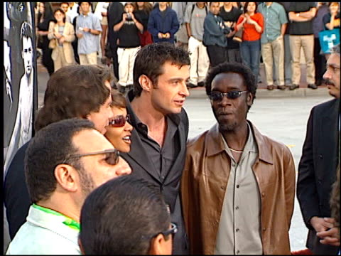 Don Cheadle at the Swordfish Premiere on June 4 2001
