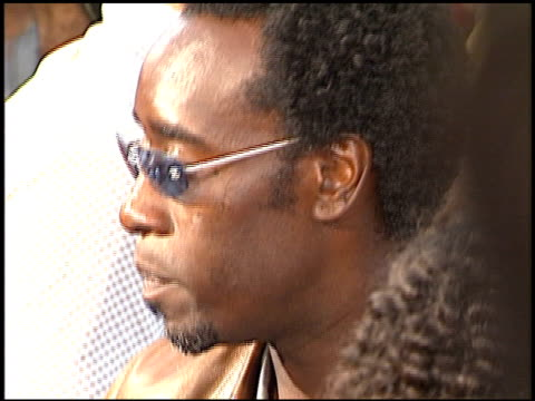 Don Cheadle at the 'Swordfish' Premiere on June 4 2001