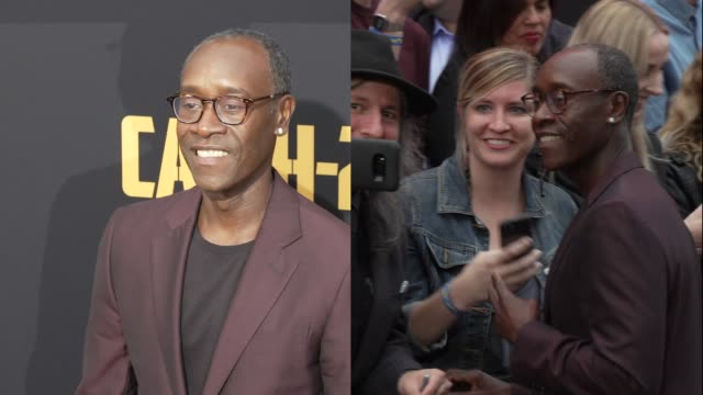 Don Cheadle at the US Premiere of Hulu's 'Catch22