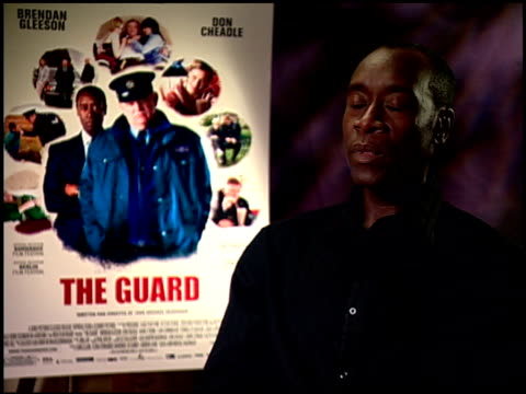 Don Cheadle on being costar and Executive Producer at the 'The Guard' Junket at Beverly Hills CA