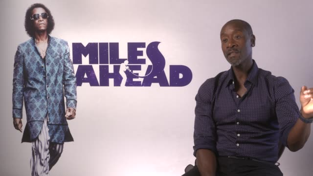 INTERVIEW Don Cheadle on doing all the press 'Avengers Age of Ultron' everyone dieing in the new Avengers Age of Ultron at 'Miles Ahead' junket on...