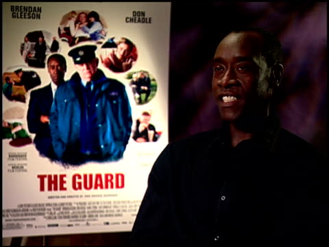 Don Cheadle on he and Brendan Gleeson working well together at the 'The Guard' Junket at Beverly Hills CA
