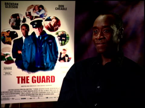 Don Cheadle on the ending of the film at the 'The Guard' Junket at Beverly Hills CA