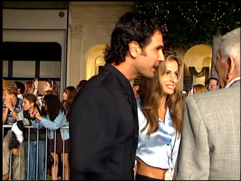Don Diamont at the Planet Hollywood entrances on September 17 1995