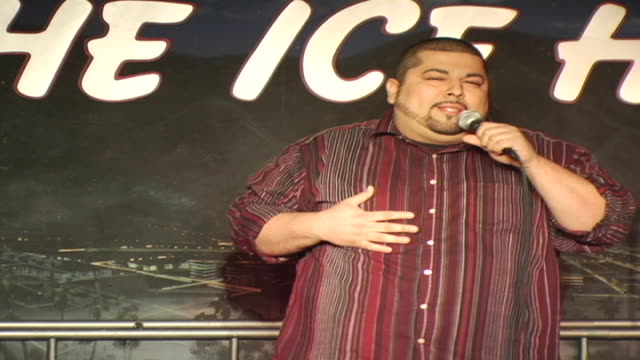 don hefty talks about mcdonnald's drive through - comedian stock videos and b-roll footage