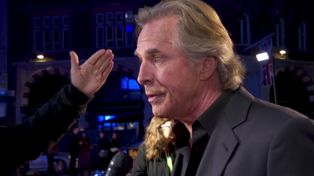 don johnson at 63rd bfi london film festival on october 01 2019 in london england - the times bfi london film festival stock videos & royalty-free footage