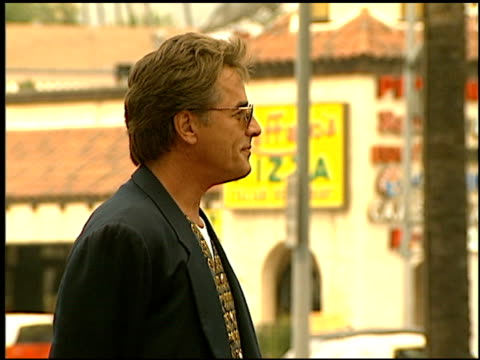 don johnson at the dediction of don johnson's walk of fame star at the hollywood walk of fame in hollywood california on july 26 1996 - 1996年点の映像素材/bロール