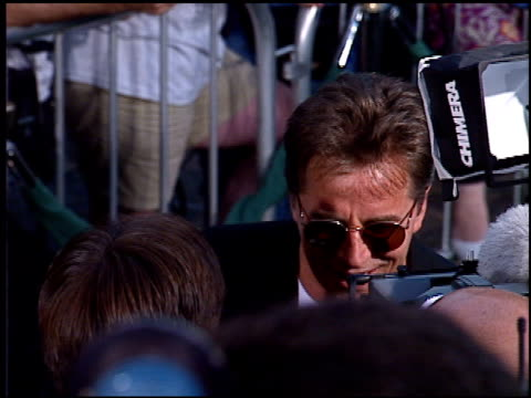 don johnson at the 'tin cup' premiere at the mann village theatre in westwood, california on august 1, 1996. - 1996 stock videos & royalty-free footage
