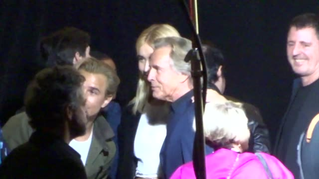 don johnson grace johnson outside the premiere of hbo's watchmen at the cinerama dome in hollywood in celebrity sightings in los angeles - cinerama dome hollywood stock videos & royalty-free footage