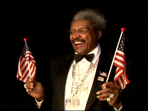 don king at the 2006 bet awards portrait studio at the shrine auditorium in los angeles, california on june 27, 2006. - shrine auditorium stock videos & royalty-free footage