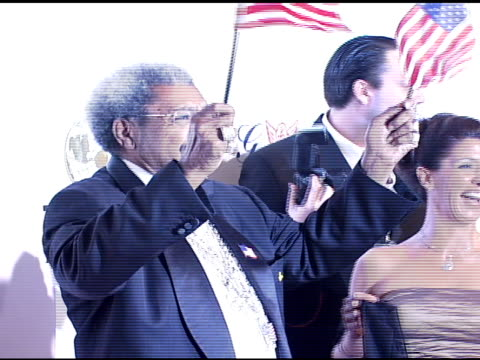 don king at the denise rich marks 10th year of the gp foundation with an evening of stars and music at the 2007 angel ball at marriott marquis hotel... - marriott marquis new york stock videos & royalty-free footage