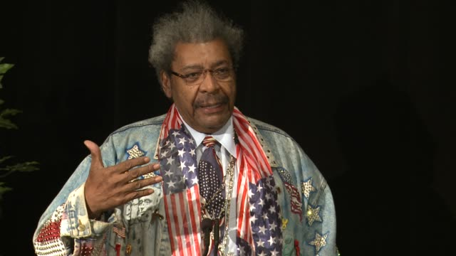 Don King talks about how this film helps fight injustice at 'Black November' Screening At The Library Of Congress Washington DC on
