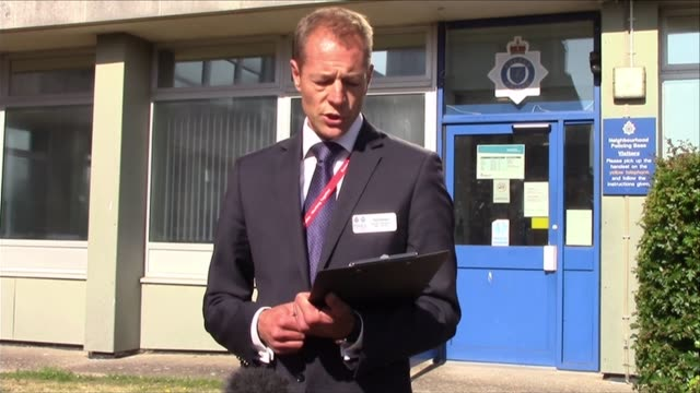 don lock road rage murder: matthew daley arrested and charged; england: sussex: ext detective chief inspector paul rymarz statement sot - matthew... - worthing点の映像素材/bロール