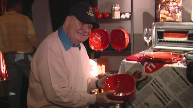 don rickles at the bertolli at the presenters gift lounge celebrating the primetime emmy awards hosted by aeg ehrlich ventures at los angeles ca. - gift lounge stock videos & royalty-free footage